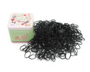 J-Beauty Kids Girl Colourful Hair Rubber Bands Elastic Hair Ties 700 Pcs Thick Design Hard to Cut