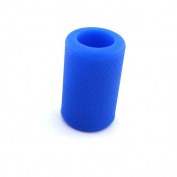 HoriKing Tattoo Supply Non-Slip Tattoo Grip Cover Wholesale 2pcs Import Soft Silicone Tattoo Rubber Grip for 22mm-25mm Tattoo Grip BlueTattoo Accessories Supply