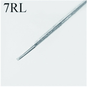 HoriKing Tattoo Supply Disposable Stainless Steel Tattoo Needles 50pcs Standard 316L for Tattoo Machine Round Liner Supply