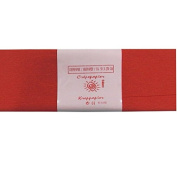 Alberts Large Crepe Paper - Red - 50cm x 250cm