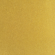 TooMeeCrafts 28cm by 20cm Glitter Cardstock, Bright Gold Colour,Pack of 10