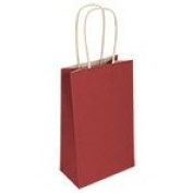 Small Red Kraft Paper Gift Bags, 3 ct. pack
