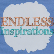 Endless Inspirations Original Stencil, 15cm x 15cm , Cloud Silhouette