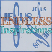 Endless Inspirations Original Stencil, 15cm x 15cm , Jesus Cross