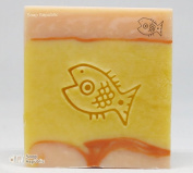 SoapRepublic Little Fish Acrylic Soap Stamp / Cookie Stamp / Clay Stamp