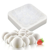 1 PC Silicone 3D Sky Cloud Mould Cake Decorating Baking Tools For Chocolate Mousse Chiffon Pastry Art Mould