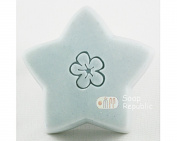 SoapRepublic Small Flower Acrylic Soap Stamp / Cookie stamp
