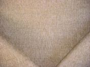 157RT14 - Taupe / Sandstone / White Strie Plains Weave Designer Upholstery Drapery Fabric - By the Yard