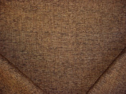 156RT6 - Black / Chocolate Strie Plains Weave Designer Upholstery Drapery Fabric - By the Yard