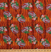 Cotton Keebler Logo Elf Elves in the Hollow Tree Cookies Crackers Snacks Food Kitchen Baking Cotton Fabric Print by the Yard
