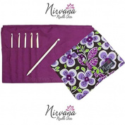 HiyaHiya Nirvana Bone Crochet Hooks Gift Set F-J US 3.75-6.0 mm