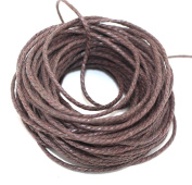 Passion Junetree Cotton Cords Strings Ropes for DIY Necklace Craft Making 1.8mm 10 metres brown