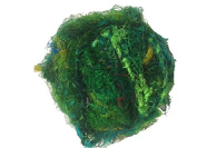Recycled Sari Silk Super Bulky Yarn - Green