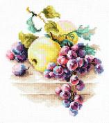 Cross Stitch Kit Grapes and apples