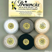 Presencia Finca Perle Cotton Thread Sampler Pack, Size 5 / 10 gramme - NEUTRAL