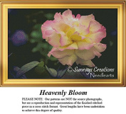 Heavenly Bloom | Flowers Counted Cross Stitch Pattern