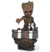 Guardians of the Galaxy 2 II DJ Baby Groot Statue Action Figure Collectible Model Toy 18cm