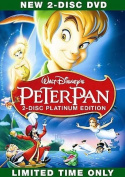 Peter Pan (DVD, 2007, 2-Disc Set, Platinum Edition) Brand New