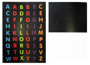 Trunki Multiple Sets of Different Colour Alphabet Stickers