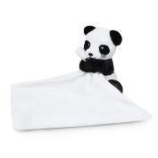 Waddle Panda Bear Stuffed Animal Baby Blanket Rattle Toy Plush Lovey Security