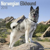 Norwegian Elkhound Calendar 2018