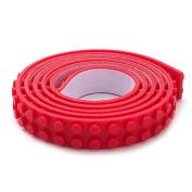 2 Stud Peel-n-BRICK Building Block Tape, 1m RED