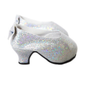 My Brittany's Silver Back Bow Shoes for American Girl Dolls