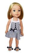 My Brittany's Paris Swmsuit with Shoes for Wellie Wisher Dolls
