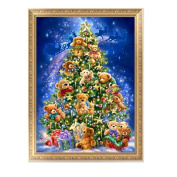 Techinal DIY 5D Diamond Painting Christmas Tree Embroidery Cross Stitch Home Decor Scraft