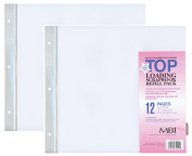 2-PACK - MBI 30cm x 30cm Scrapbook Expansion Pages, 6sht