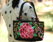 Women Wallets Swingpack Hill Tribe Ethnic Embroidered Sling Purse