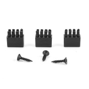 3pcs Arrow Rest Replacement Brushes with 3pcs Screws For Hostage Arrow Rest Archery Bow