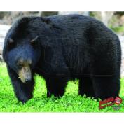 DuraMesh Archery Bear Target, Black, 60cm x 80cm