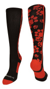 MadSportsStuff Crazy Paws Over the Calf Athletic Socks