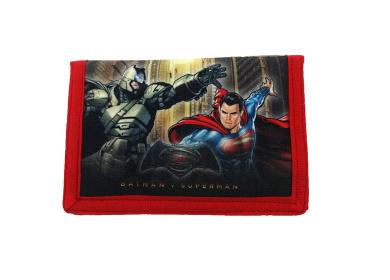 Batman Vs Superman Wallet Coin Pouch, 25 cm, Black