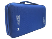 CD Case Holder 64 Disc Container Wallet Blue