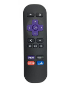 Nettech Standard IR Replacement Remote for Roku 1, Roku 2, Roku 3, Roku 4 (HD, LT, XS, XD), Roku Express, Roku Premiere, Roku Ultra; DO NOT Support Roku Stick or Roku TV with 4 button
