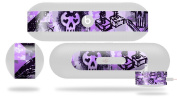 Scene Kid Sketches Purple Decal Style Skin - fits Beats Pill Plus