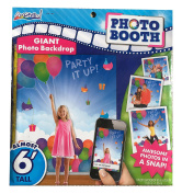 Party It Up Photo Booth Kit - Backdrop with Props