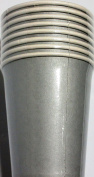 Silver Paper Cups (8 Cups) - 270ml cups