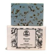 Healing Herbal Shea Soap Bar for Grief, Sorrow & Emotional Turmoil Hoodoo Wiccan Pagan Voodoo