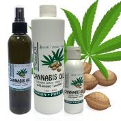 Hemp Oil-Cannabis Oil, Organic 100% Pure Hemp Oil, Pure Therapeutic Grade