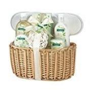 Bath Spa Set For Moms, Womens Body Wash With White Gardenia Scent
