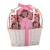 Bath Gift Basket, Best Healthy Holiday Gift Baskets Body Care Gift Set For Her