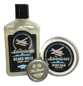 Walton Wood Farm Men Don't Stink Products Gift Set with Mini The Beast Solid Cologne