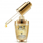 Anti-Ageing Anti-Wrinkle Moisturising Skin Face Cream - Pure 24K Gold Essence for Smooth Firm Skin - Hyaluronic Acid Liquid 30ml for Glowing Skin