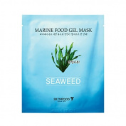 [Skin Food] Marine Food Gel Mask (Seaweed) 25g + SoltreeBundle Oil blotting Paper 50pcs
