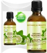 ORGANIC BERGAMOT ESSENTIAL OIL Italian - CITRUS BERGAMIA. 100% Pure Therapeutic Grade, Premium Quality, Undiluted.