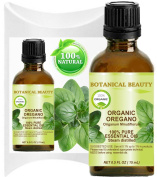 OREGANO ESSENTIAL OIL ORGANIC WILD GROWTH. 100% Pure Therapeutic Grade, Premium Quality, Undiluted. 0.5 Fl.oz.- 15 ml.