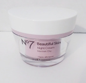 No 7 Beautiful Skin Night Creme Normal Dry 50 ml 1.6 fl oz Boots No7